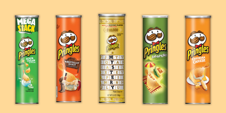 Guess the new flavor of Pringles chips and you could win $10,000
