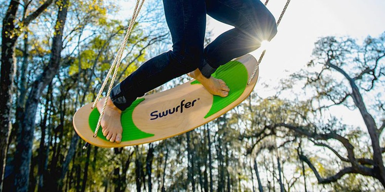 Surfing swing