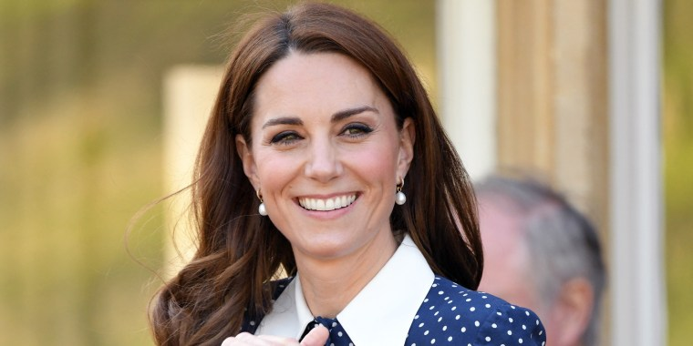 Duchess Kate channels Diana in polka-dot dress