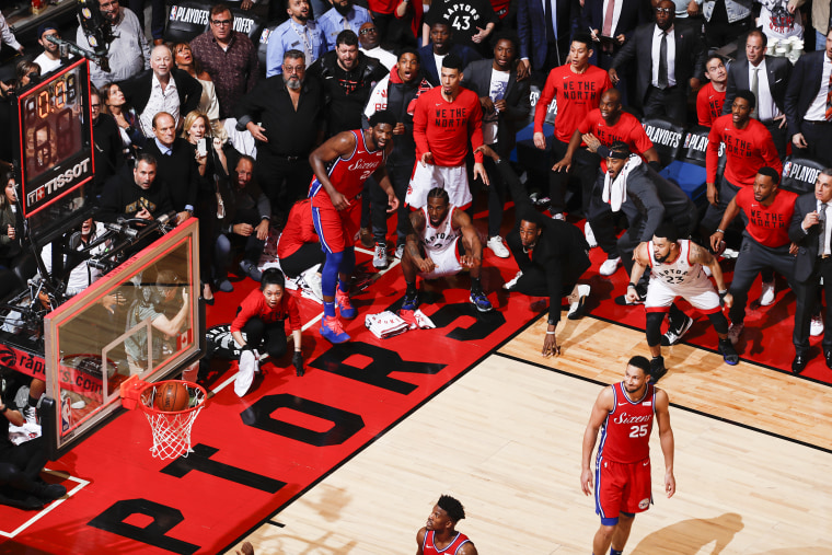 Eastern Conference Semifinals - Philadelphia 76ers v Toronto Raptors