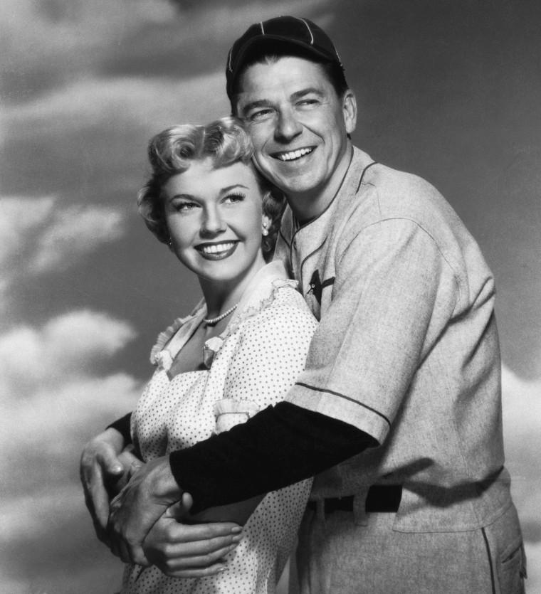 Ronald Reagan And Doris Day/Publ Handout