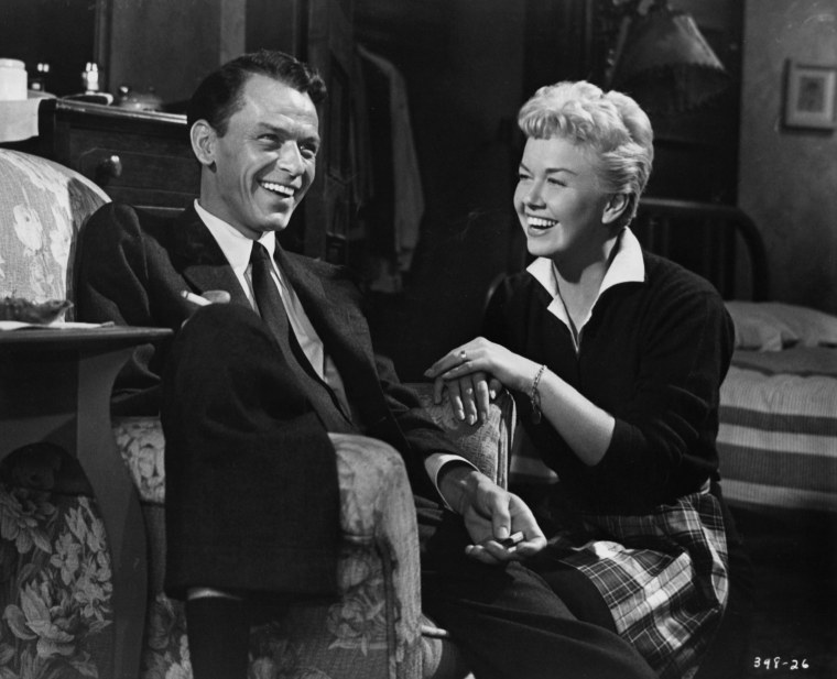 Frank Sinatra And Doris Day In 'Young At Heart'
