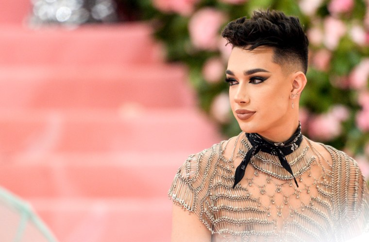 "Image: James Charles attends the Met Gala Celebrating ""Camp: Notes on Fashion"" at the Metropolitan Museum of Art in New York on May 6, 2019."