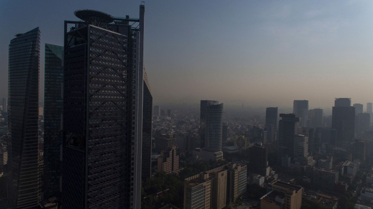 Image: MEXICO-AIR-POLLUTION