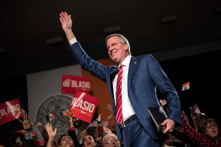Image: Mayor Bill de Blasio