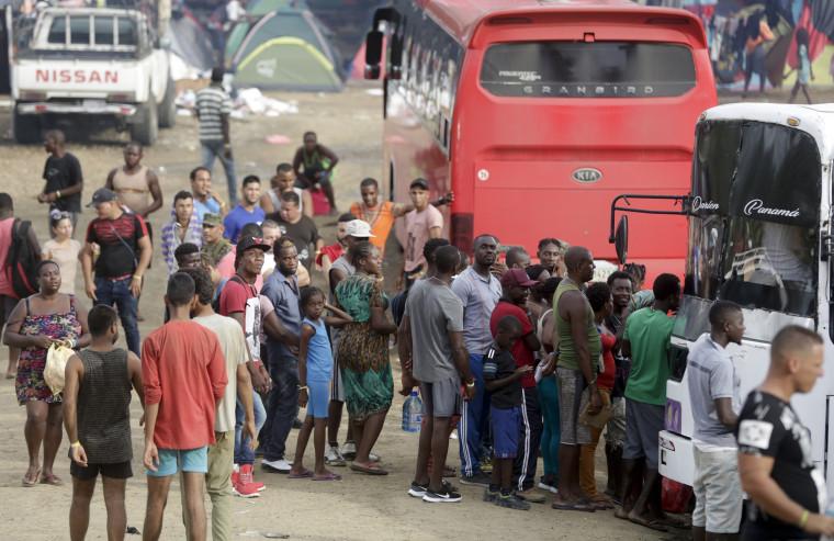 Image: Panama migrants