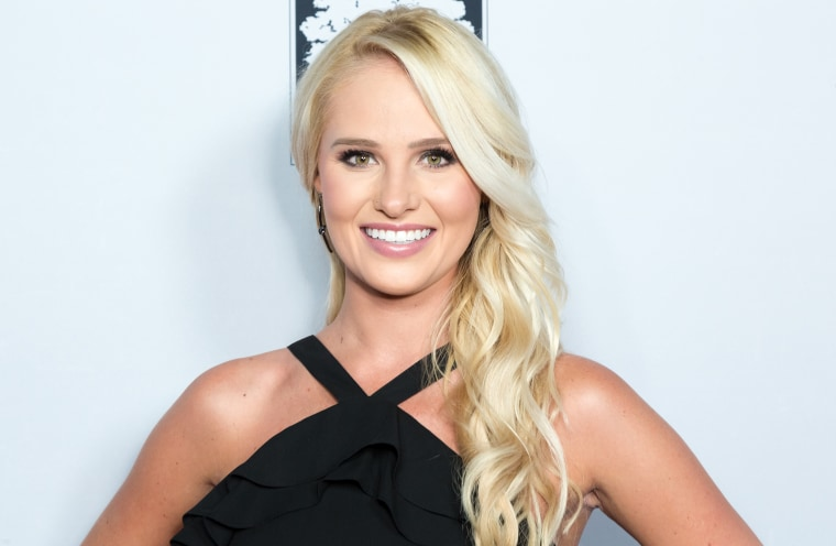 "Tomi Lahren attends the ""Death Of A Nation"" Premiere in Los Angeles on July 31, 2018."