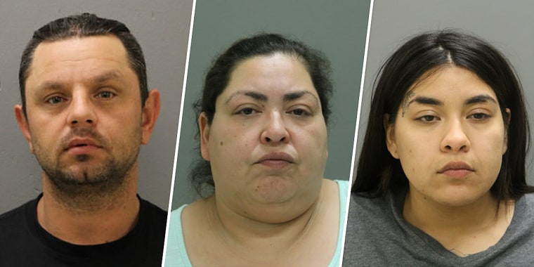 Piotr Bobak, 40, Clarisa Figueroa, 46, and Desiree Figueroa, 24.