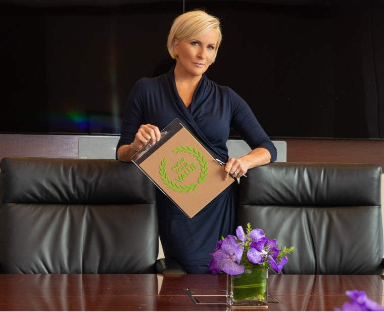 "Know Your Value founder and ""Morning Joe"" co-host Mika Brzezinski."
