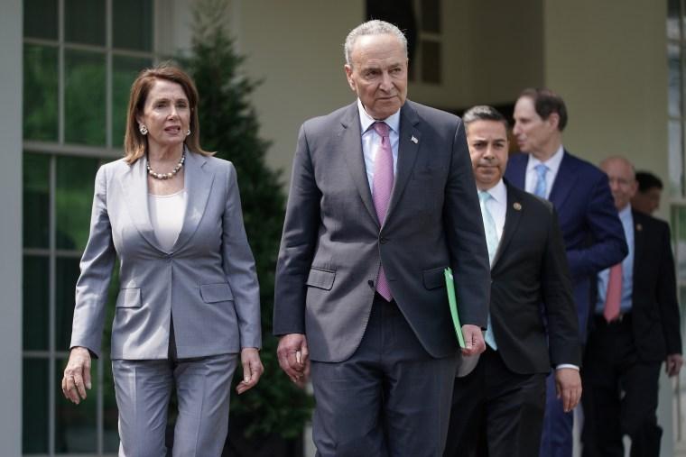 Image: Nancy Pelosi Chuck Schumer