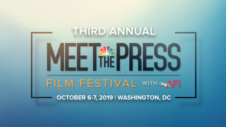 Third Annual Meet the Press Film Festival with AFI returns