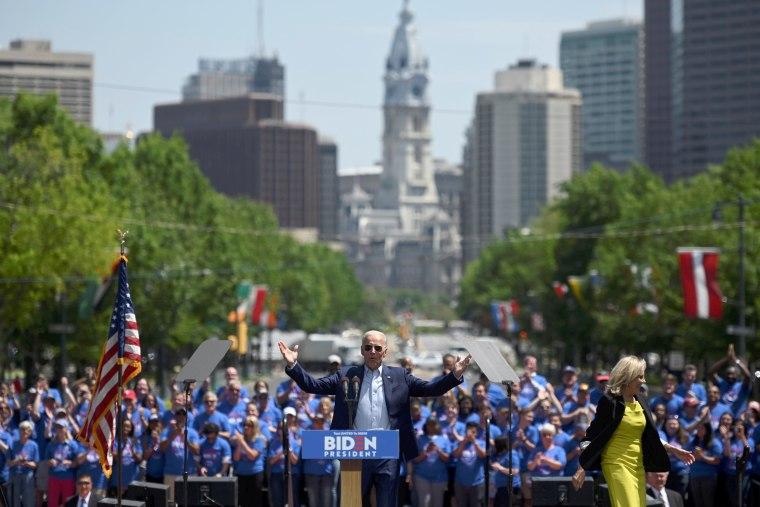 Image: Joe Biden rally Philadelphia