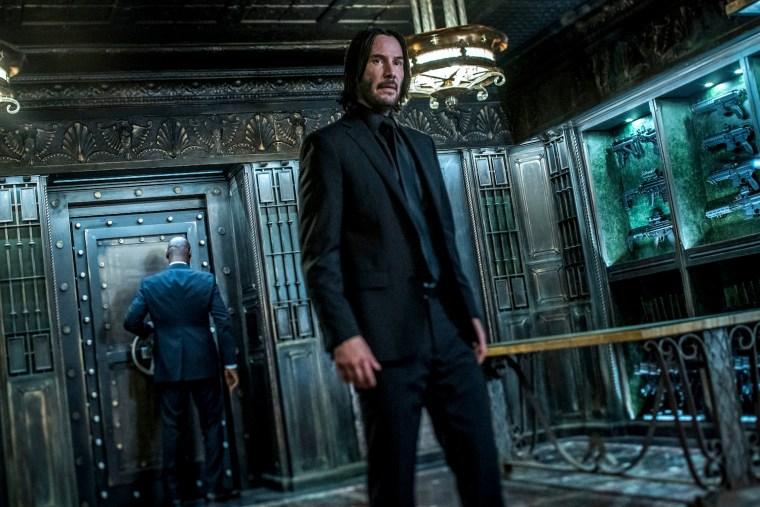 Image: Keanu Reeves stars as 'John Wick' in JOHN WICK: CHAPTER 3 - PARABELLUM.