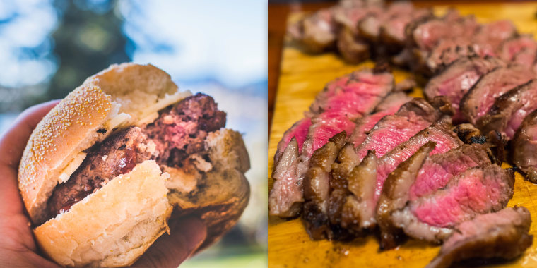 Why eating a rare burger is more dangerous than eating a rare steak