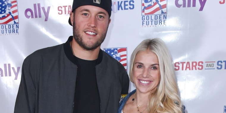 Matthew and Kelly Stafford