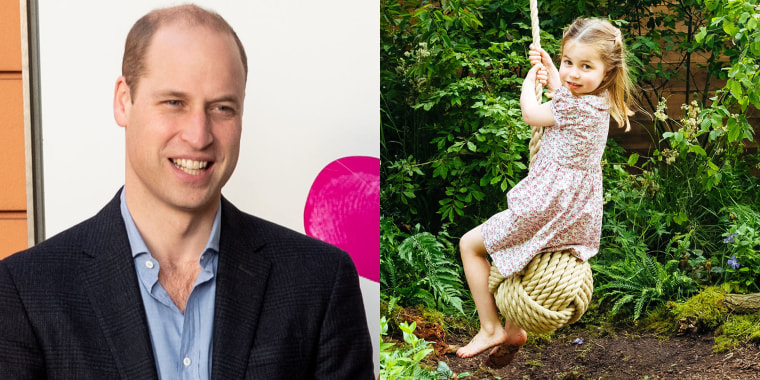 Did Prince William just reveal his sweet nickname for Princess Charlotte?