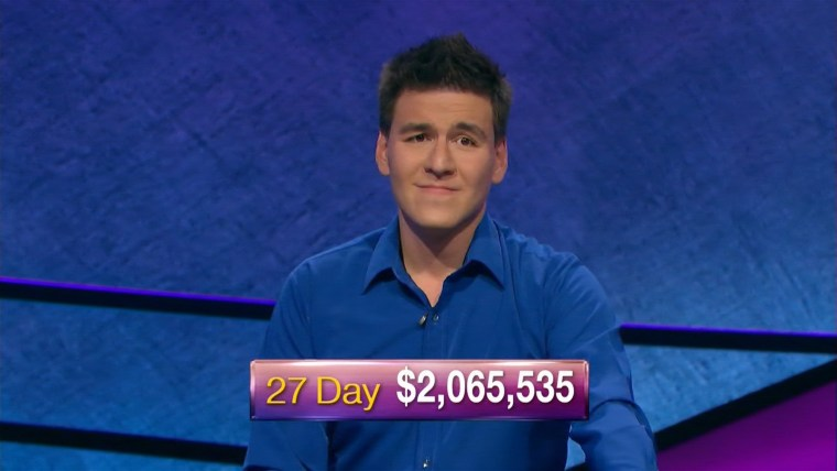 """""""Jeopardy!"""" contestant James Holzhauer earned over $2 million in his 27th consecutive win on Friday's show."""