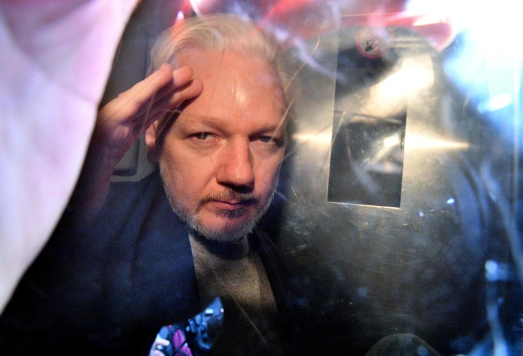 Julian Assange's legal team prepares for a lengthy free speech battle