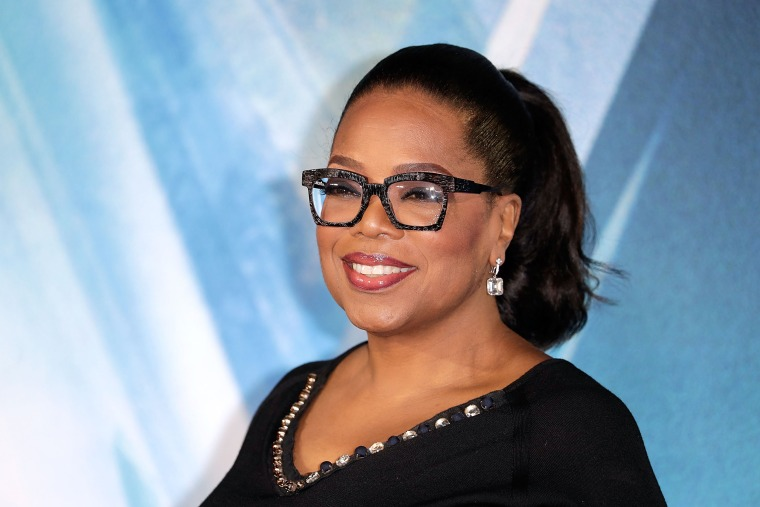 Oprah Winfrey attends the European Premiere of 'A Wrinkle In Time' in London on March 13, 2018.