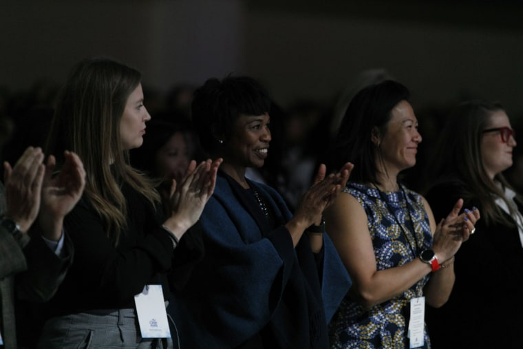 Audience members at the Know Your Value event in San Francisco on Dec. 1, 2018.