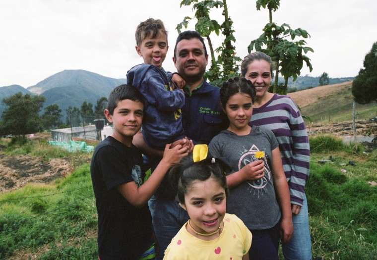The Zuleta family in Colombia