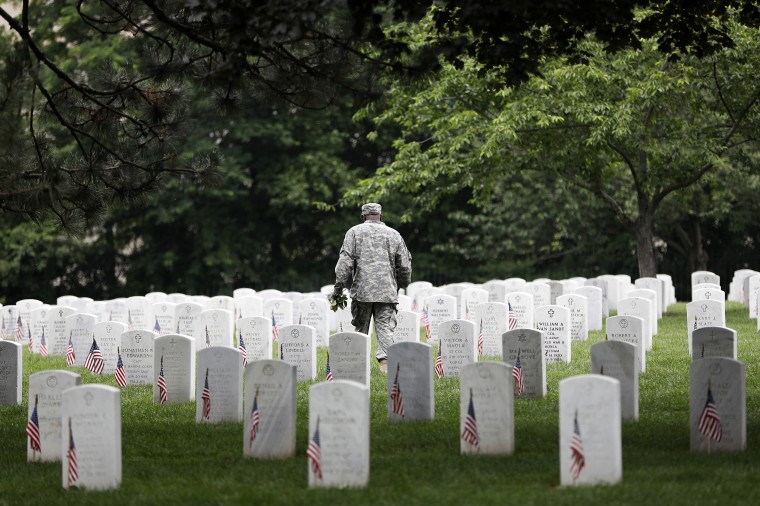 Memorial Day Is Commemorated At Arlington National Cemetery