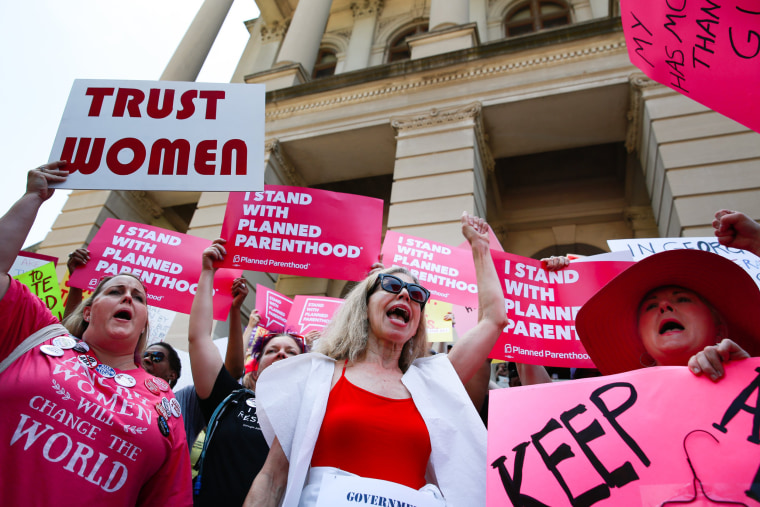 Image: Rallies Across U.S. Protest New Restrictive Abortion Laws