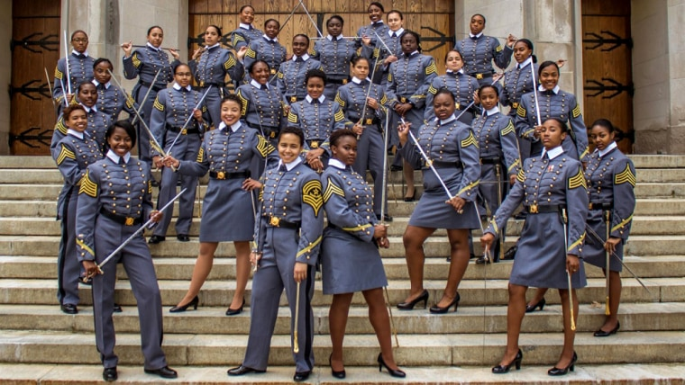 Image: The largest class of graduating African-American women will graduate from West Point in 2019.