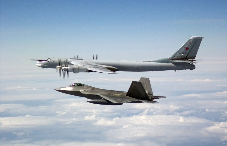 U.S. fighters intercept Russian bombers flying near Alaska for second day in a row
