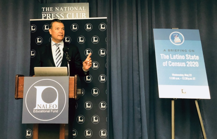 California Secretary of State Alex Padilla, co-chair of the National Latino Commission on Census 2020
