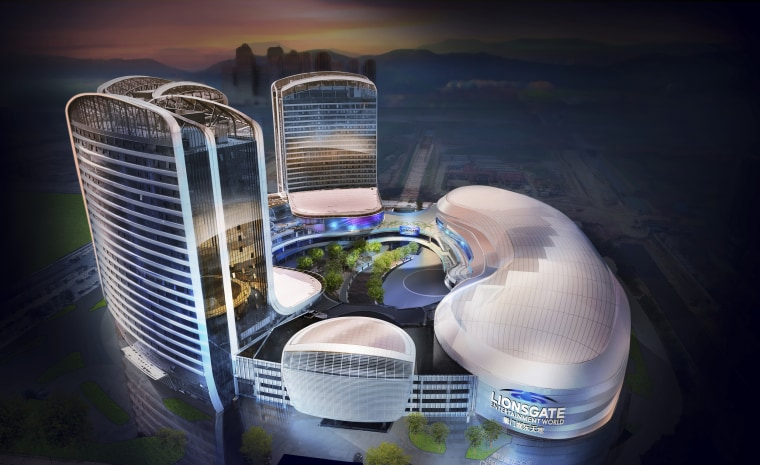 "The Lionsgate Entertainment World is a virtual reality-heavy theme park set to open in July on Hengqin Island in China. The park will feature rides, shops and attractions set in the worlds of popular Lionsgate films including ""The Hunger Games,"" ""Twilight"" and ""Escape Room."""