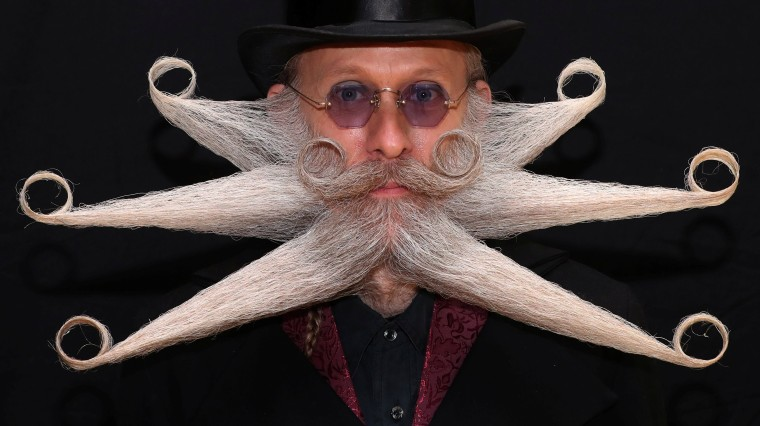 Image: World Beard and Moustache Championships in Antwerp