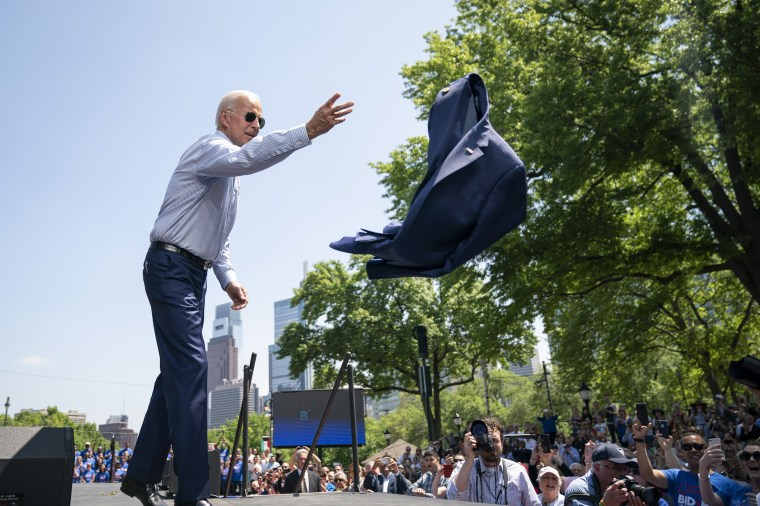 Image: Joe Biden Holds Official Presidential Campaign Kickoff Rally In Philadelphia