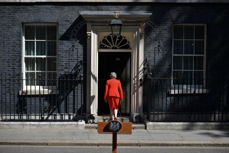 Image: BRITAIN-POLITICS-EU-BREXIT