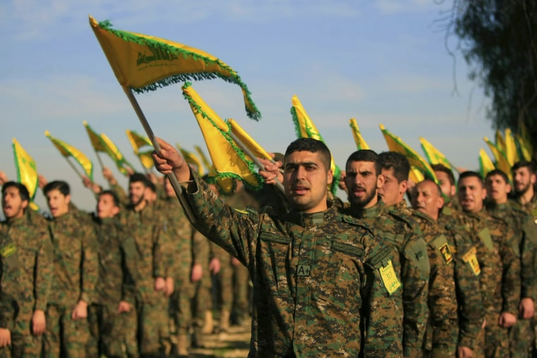 Image: Hezbollah fighters