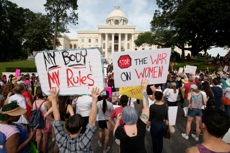 Image: FILE PHOTO: March for Reproductive Freedom in Montgomery