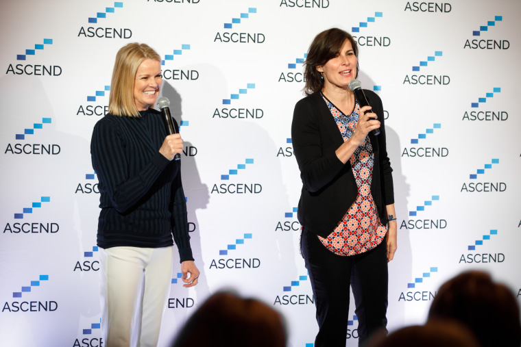 """Katty Kay and Claire Shipman, co-authors of """"The Confidence Code"""" and """"The Confidence Code for Girls"""" at the Ascend conference earlier this month in New York City."""