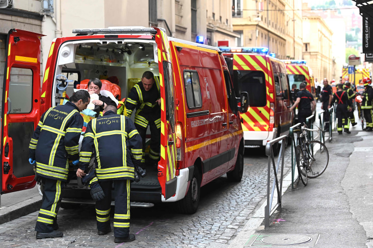 Explosion in French city of Lyon injures at least 13