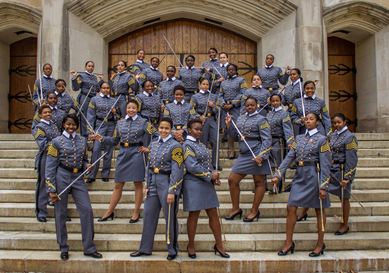 History in the making: 32 African American females will be with the Class of 2019, the most in the United States Military Academy's history.