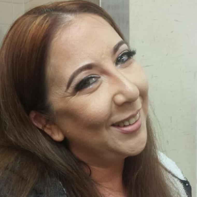 Rachel Palma after surgery