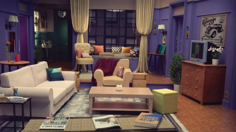 Ikea brings iconic living room from \'Friends\' to life in new ad campaign