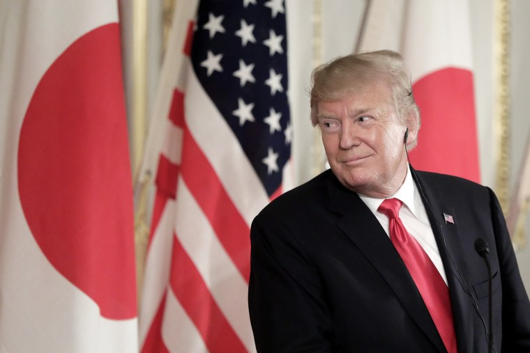 Trump says he isn't bothered by North Korea's recent missile launches