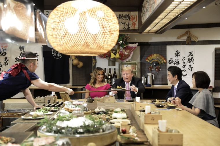 Image: President Trump Makes State Visit To Japan