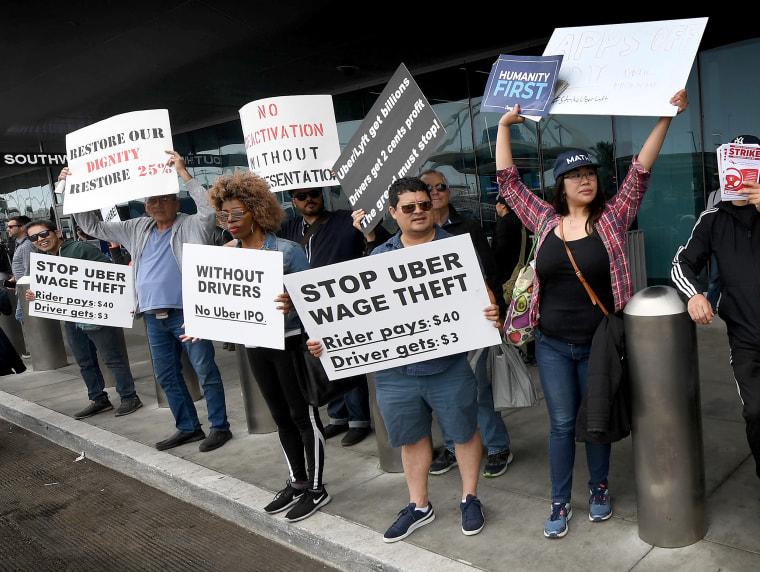 Image: US-transport-demonstration-Uber
