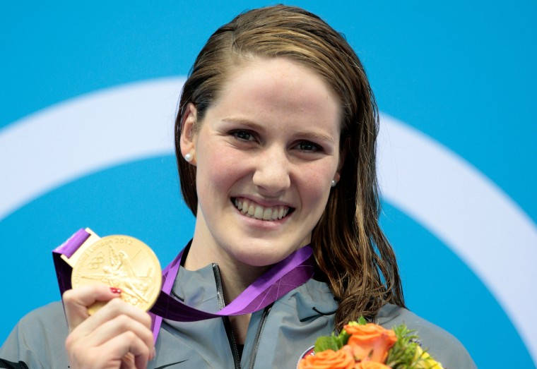 Image: Missy Franklin, Olympics Day 3 - Swimming
