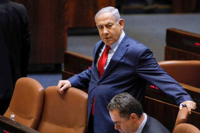 Image: CORRECTION-ISRAEL-POLITICS-PARLIAMENT