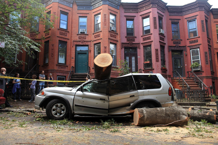 Brooklyn Cleans Up After Tornado Touched Down Day Earlier