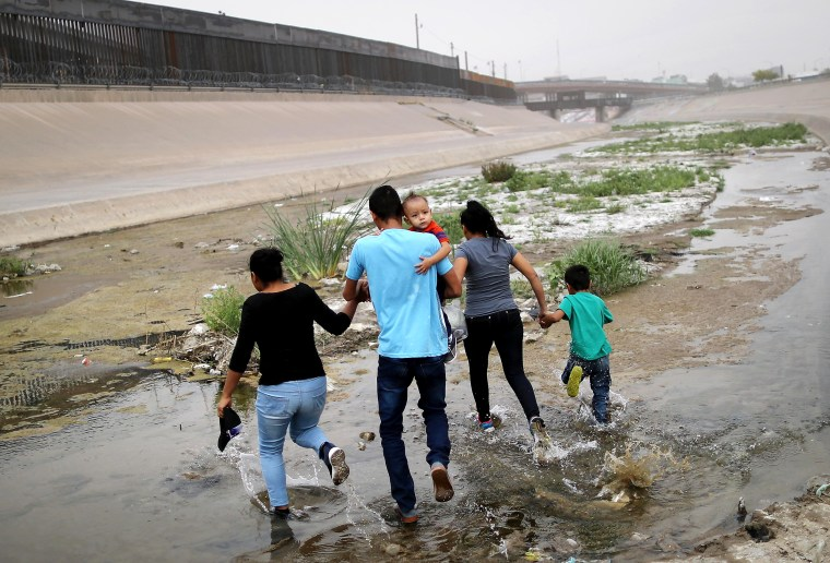 Image: Swelling Numbers Of Migrants Overwhelm Southern Border Crossings