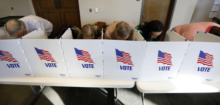 Image: Mississippi voting