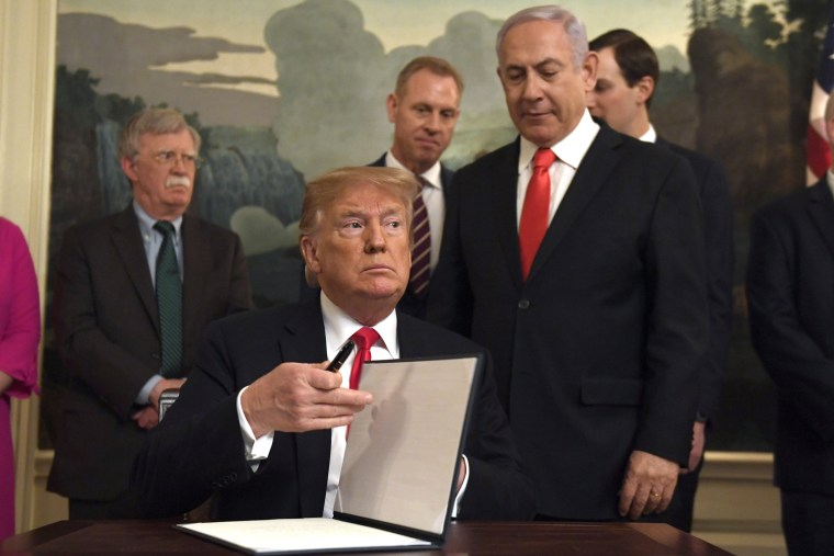 Image: Donald Trump, Benjamin Netanyahu